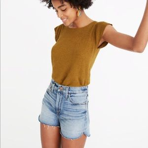 Madewell Perfect Jean High-Rise Cutoff Short 24